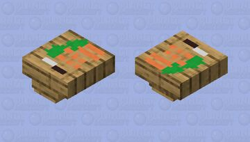 Cutting board turtle Minecraft Mob Skin