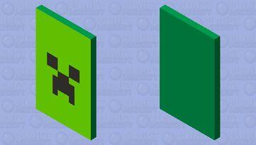 Creeper Minecraft Mob Skin