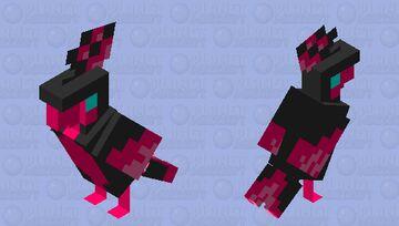 Galarian Moltres Minecraft Mob Skin