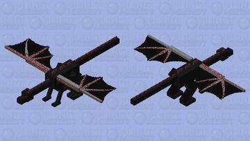 blood dragon Minecraft Mob Skin