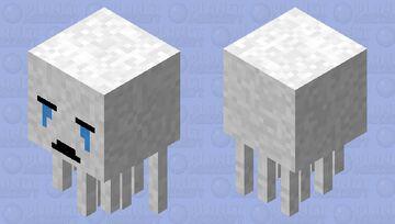 Updated Ghast. Minecraft Mob Skin