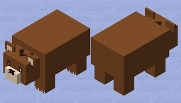 PECO Bear - New Game!! Minecraft Mob Skin