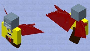 sponge bob costume for vex Minecraft Mob Skin