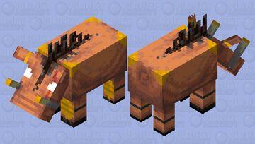 Hoglin Brute Minecraft Mob Skin