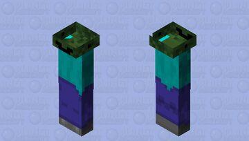 Squished head Minecraft Mob Skin