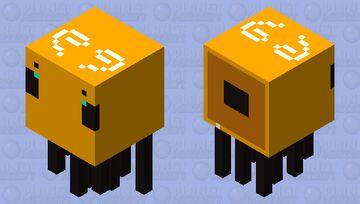 Gigantic Bee Minecraft Mob Skin