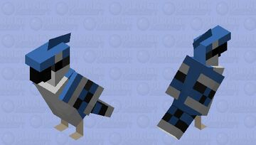 Blue Jay Minecraft Mob Skin