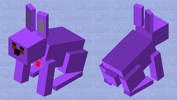 Bonnie FNAF Minecraft Mob Skin