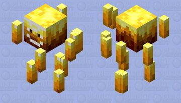 BEBE BLAZ Minecraft Mob Skin