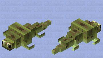 Karpinskiosaurus eye fix (Triassic reptile.) Minecraft Mob Skin