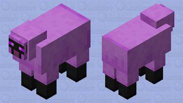 Chorus Sheep Minecraft Mob Skin
