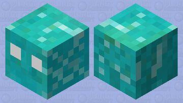 Melting Ice Cube Minecraft Mob Skin