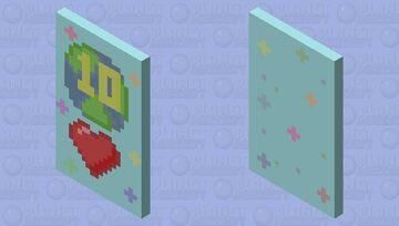 1 Decade, 10 Years, 120 Months, 521 Weeks, 3,650 Days Happy Birthday! Minecraft Mob Skin