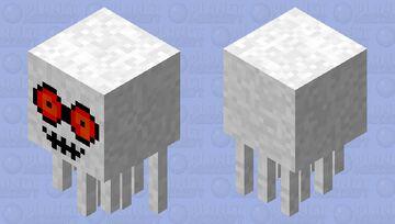 Updated Ghast. (CREEPY!) Minecraft Mob Skin