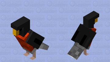 American Robin Minecraft Mob Skin