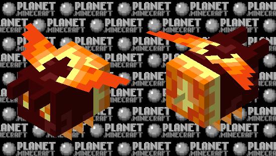 Nether Bee Minecraft Skin