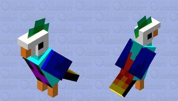 rainbow loro Minecraft Mob Skin