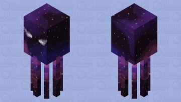 Galaxy Squid Minecraft Mob Skin