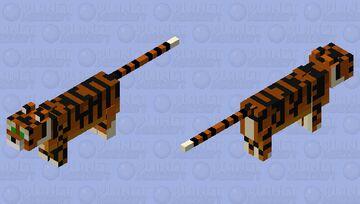 Better Ocelot (Tiger) Minecraft Mob Skin