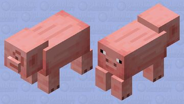 Uuuh.. Pig WHAT?? Minecraft Mob Skin