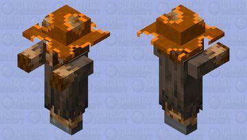 Strange Villager Minecraft Mob Skin