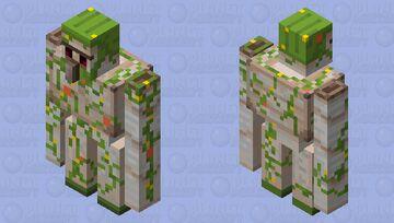 Overgrown Golem Minecraft Mob Skin