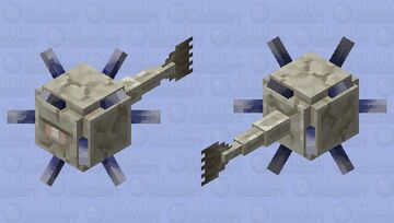 Elder guardian, but regular size || [HD] Minecraft Mob Skin