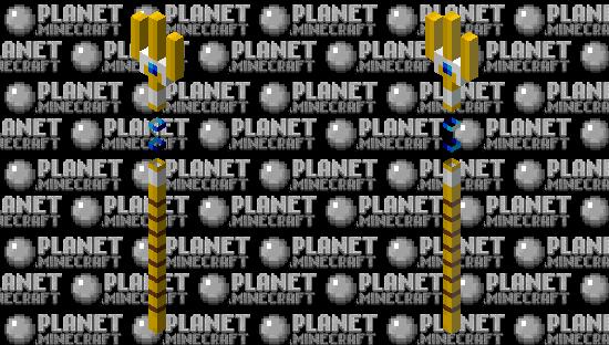 Sapphire Trident Minecraft Skin
