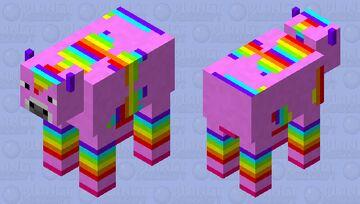 kawaii cow Minecraft Mob Skin