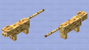 Herobrine Ocelot Minecraft Mob Skin