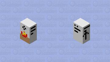 Cereal box Minecraft Mob Skin