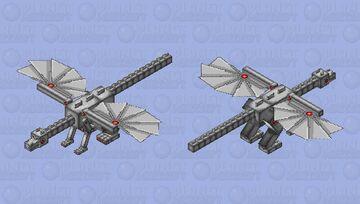 Mechanical Boss Dragon Minecraft Mob Skin