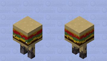 Cheeseburger Strider Minecraft Mob Skin