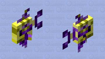 Golden Nether Angel Minecraft Mob Skin