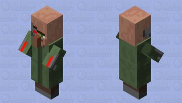 Terminator Villager Minecraft Mob Skin