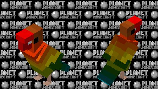 Love Bird Minecraft Skin