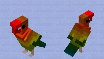Love Bird Minecraft Mob Skin