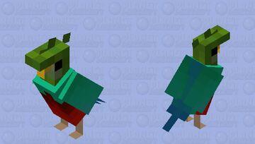 Pharomachrus mocinno Minecraft Mob Skin