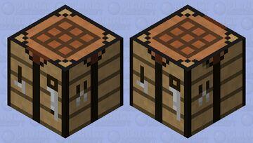 Crafting Table  (Making Minecraft Harder} Minecraft Mob Skin