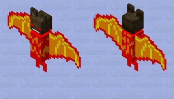 lava bat with bat mask Minecraft Mob Skin