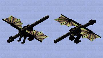 Black spots dragon Minecraft Mob Skin
