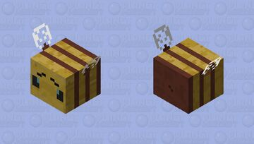 Strider Bee Minecraft Mob Skin