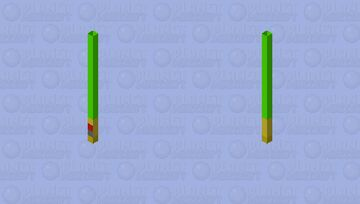 Trident: Lightsaber(Green) Minecraft Mob Skin