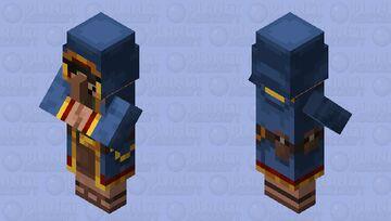 Wandering Trader with Shades Minecraft Mob Skin