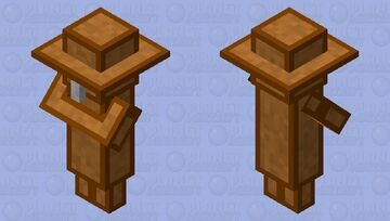 Chest Villiger Minecraft Mob Skin