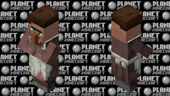 Artist Villager Minecraft Skin