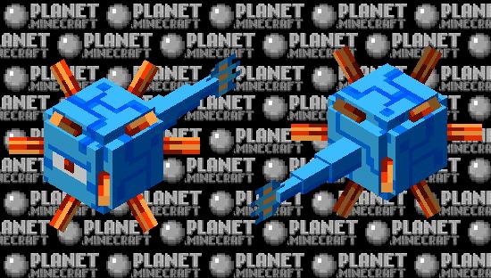 8-bit Guardian Minecraft Skin
