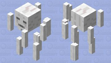 Ikea Ghast - Assembly required Minecraft Mob Skin