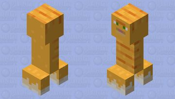 creepat (cat that's a creeper) Minecraft Mob Skin