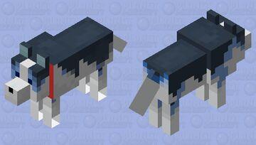 Frost Wolfie :3 Minecraft Mob Skin
